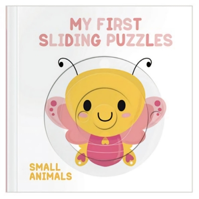 My First Sliding Puzzles:Small Animals 拼圖操作書:昆蟲篇