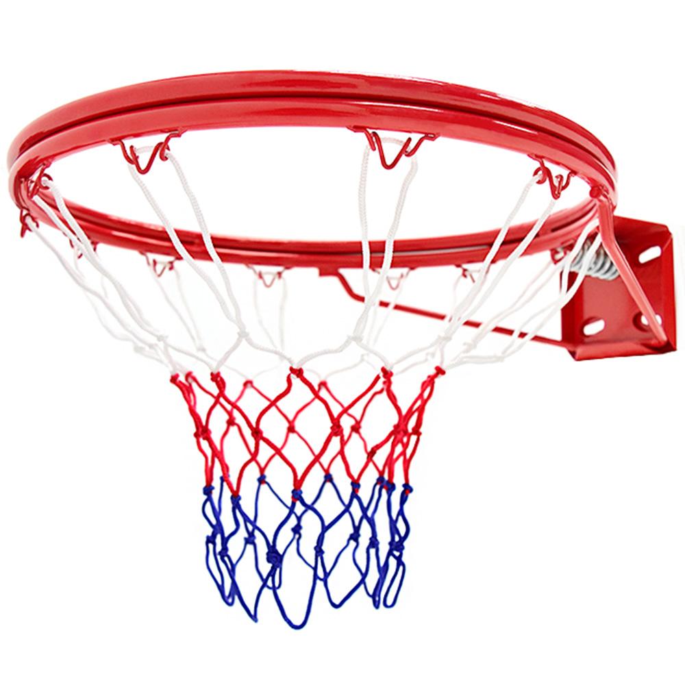 雙層金屬避震彈簧18吋標準籃球框(含籃球網) 標準籃框架