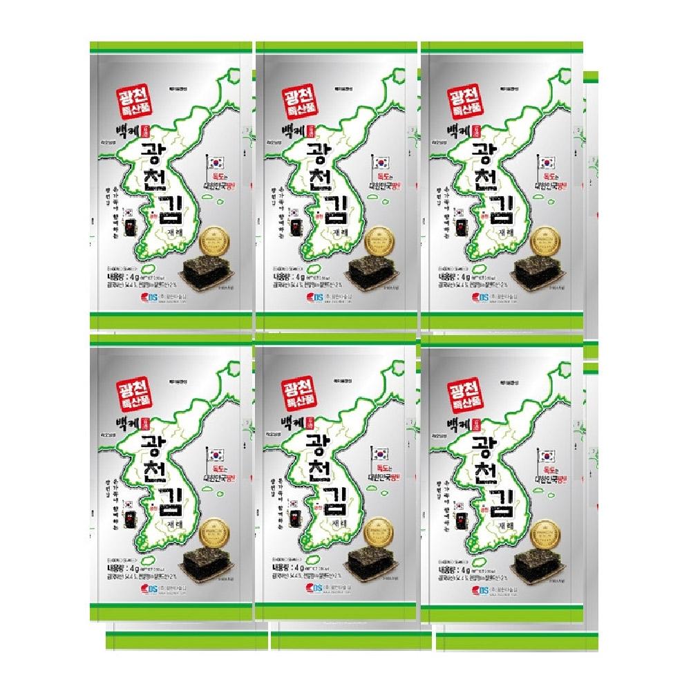 廣川 傳統烤海苔(4g*12入)