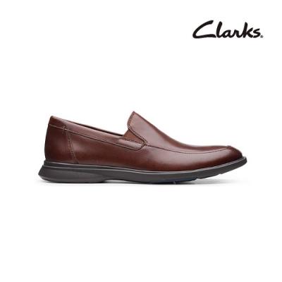 Clarks   工藝世家  Un Lipari Step   男皮鞋  紅褐色   CLM49650SD20