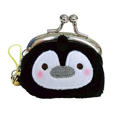 動物樂園迷你珠扣零錢包 。企鵝君  UNIQUE