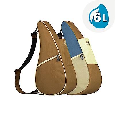 Healthy Back Bag 雙面水滴單肩側背包-S 水藍卡其