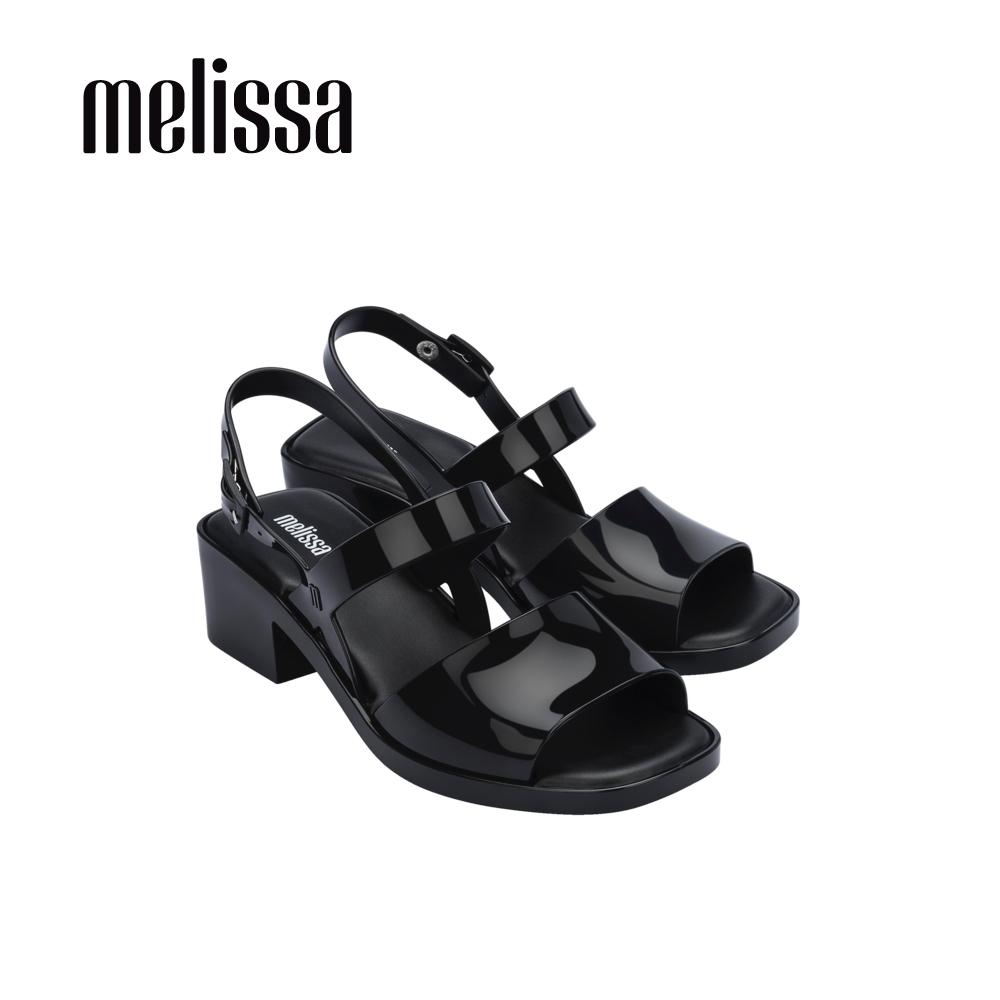 Melissa COSMO 厚底高跟涼鞋 - 黑