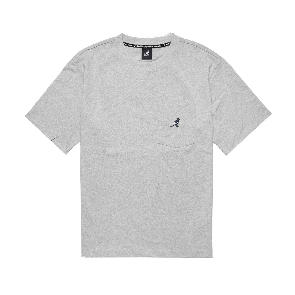 Kangol T恤 Casual Tee 運動休閒 男款 袋鼠 基本款 圓領 棉質 穿搭 灰 藍 6021100812