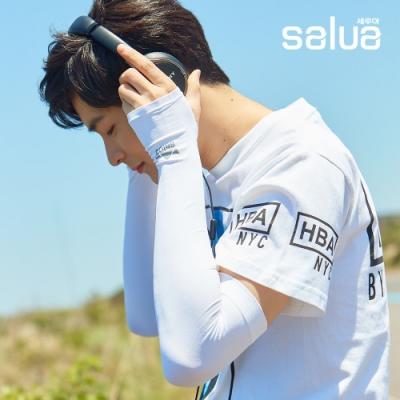 抗曬必備!韓國salua專利鍺元素防曬涼感袖套 抗UV達99.9%