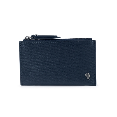 PORTER - 個性主宰LOGIC兩用卡夾/零錢包 - 深藍
