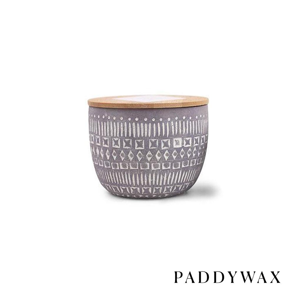 PADDYWAX 美國香氛 Sonora系列 樺木野花 原木蓋復刻浮雕陶罐 283g