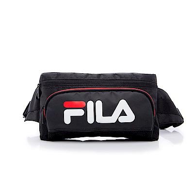 FILA 腰包-黑色 BWS-5203-BK