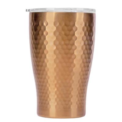 Tiamo 真空錘紋陶瓷隨手杯360ml-玫瑰金(HE5165BZ)