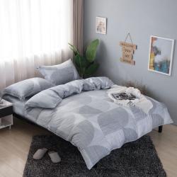 夢工場淺淺微影40支紗萊賽爾天絲四件式兩用被床包組-特大