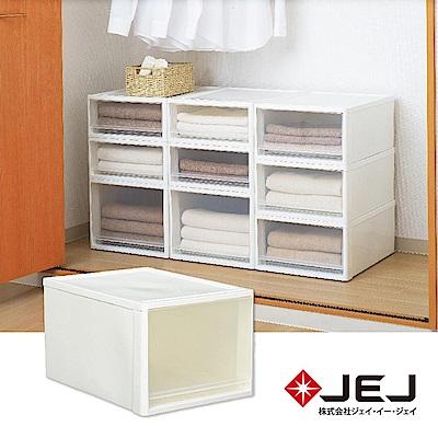 日本JEJ STORA系列 單層可疊式多功能抽屜櫃/53L 2色可選