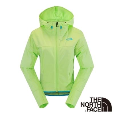 The North Face 女 彈性風衣外套 芽綠-NF00CZQ8EEK-AA