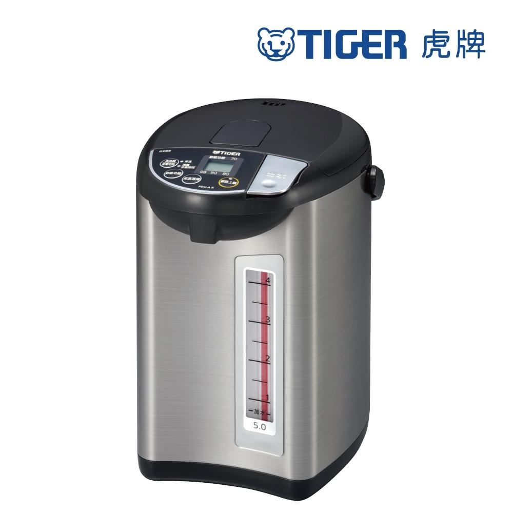 (日本製造)TIGER虎牌5.0L超大按鈕電熱水瓶(PDU-A50R)