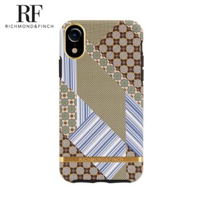 RF瑞典手機殼 金線框-西裝領帶 (iPhone XR 6.1吋)