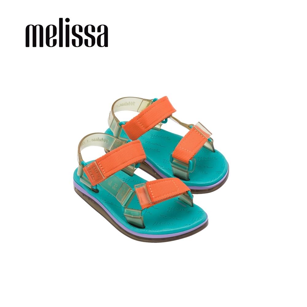 Melissa x Rider Good Time潮流休閒涼鞋 兒童款-橘黃