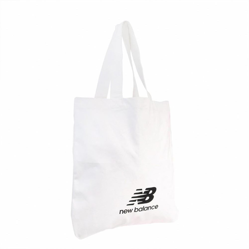 New Balance 托特包 Pool Tote 休閒 男女款 紐巴倫 購物袋 單肩背 手提包 外出 輕便 白黑 BG03079GWK