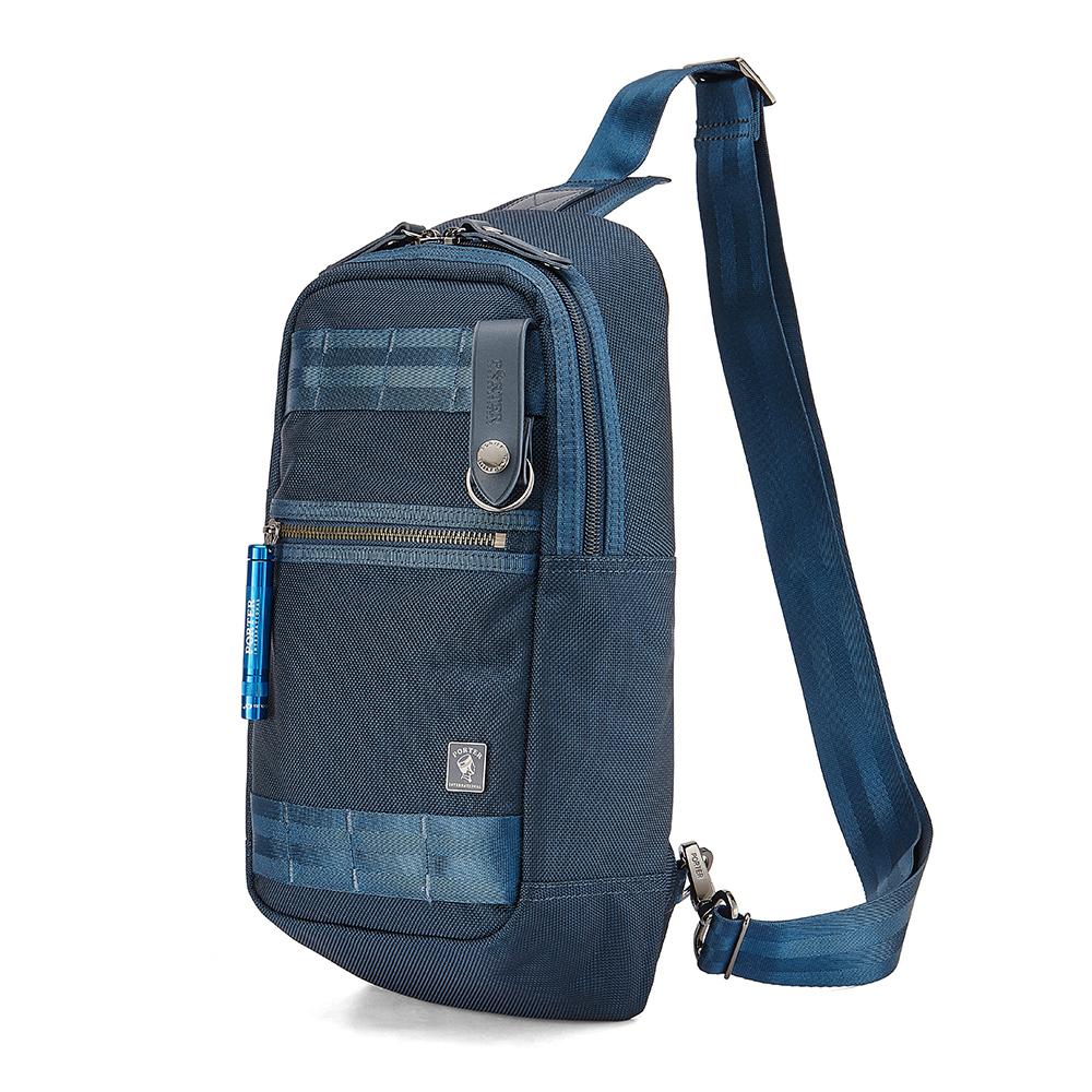 PORTER - 經典新進化NEW HEAT率性質感單肩包 - 普魯士藍
