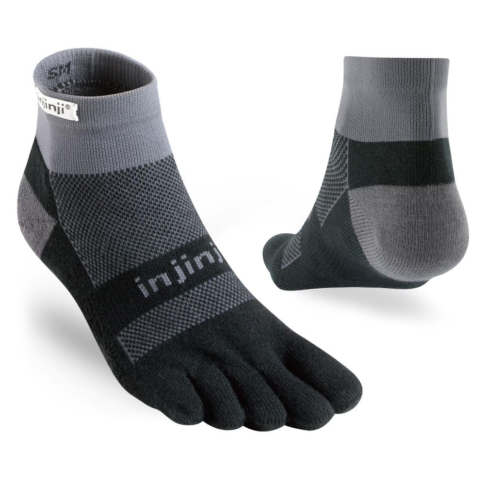【INJINJI】RUN 避震吸排五趾短襪