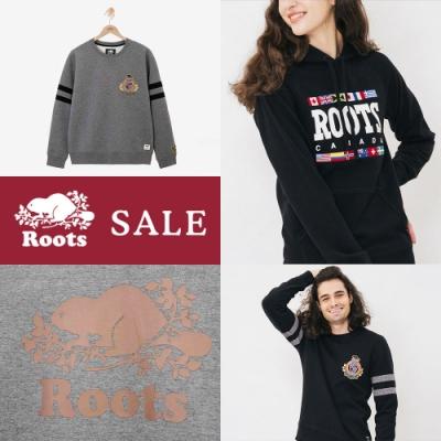 [時時樂限定] Roots 男女裝帽T/圓領上衣五款均一價