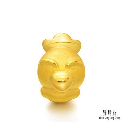 點睛品 Charme 十二生肖-雞 黃金串珠