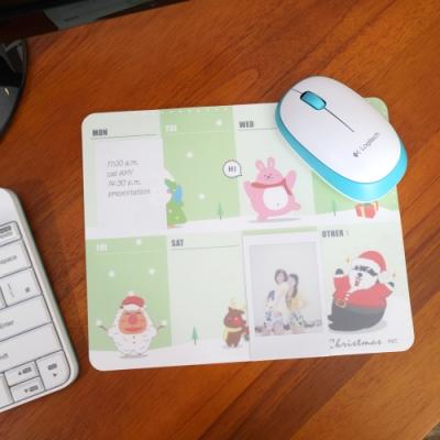 歐士OSHI Lpad 收心滑鼠墊 - 週計畫(耶誕快樂)