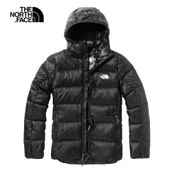 The North Face北面女款黑色保暖防潑水戶外羽絨外套|3VT3JK3