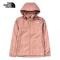 粉褐色防水透氣衝鋒衣