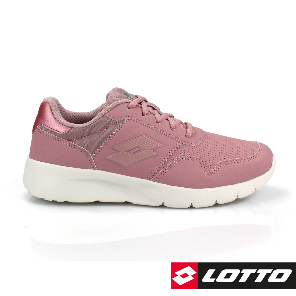 LOTTO 義大利 女 MEGALIGHT ULTRA 極致輕量跑鞋 (粉)