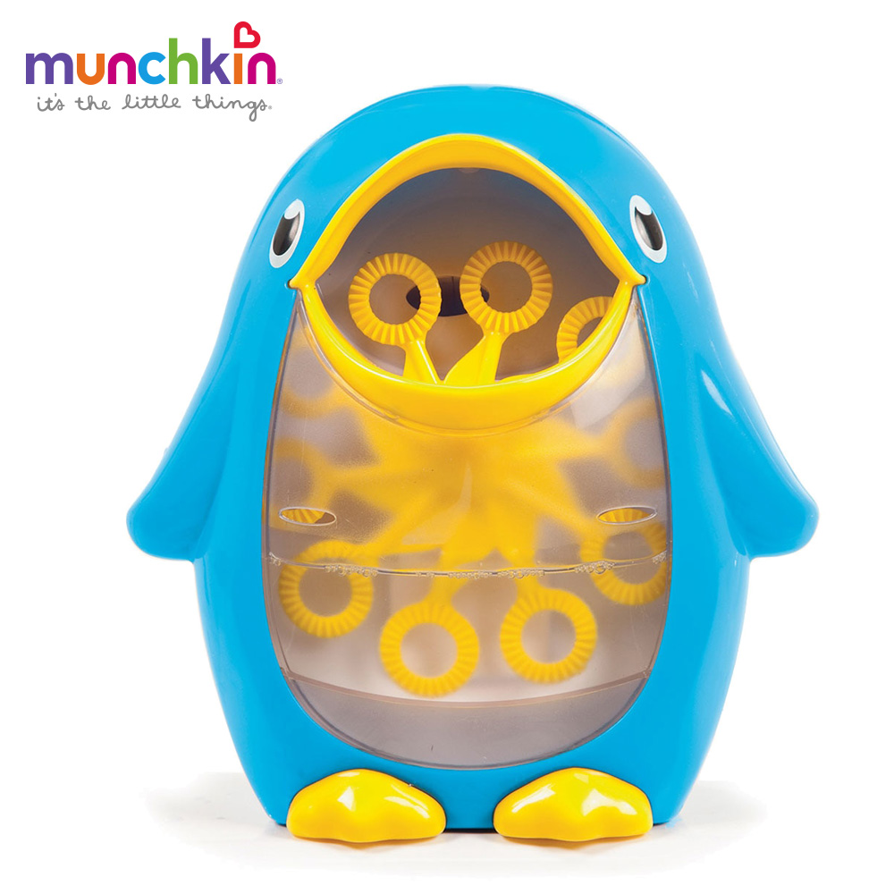 美國滿趣健munchkin-企鵝造型洗澡吹泡泡機 @ Y!購物