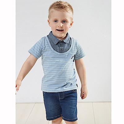 PIPPY 中性時髦牛仔短褲 藍