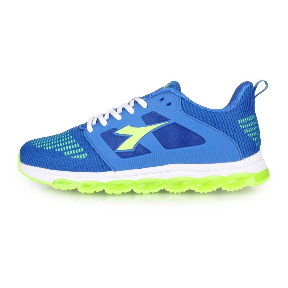 DIADORA 男 輕量慢跑鞋-寬楦 藍綠