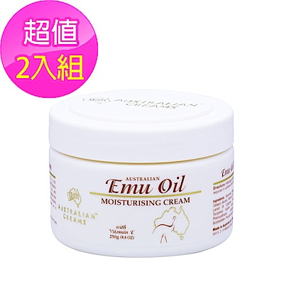 G&M Emu Oil Cream鴯鶓乳霜 250g (2入)