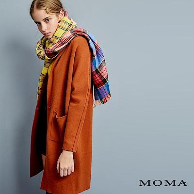 MOMA 絲瓜領針織外套