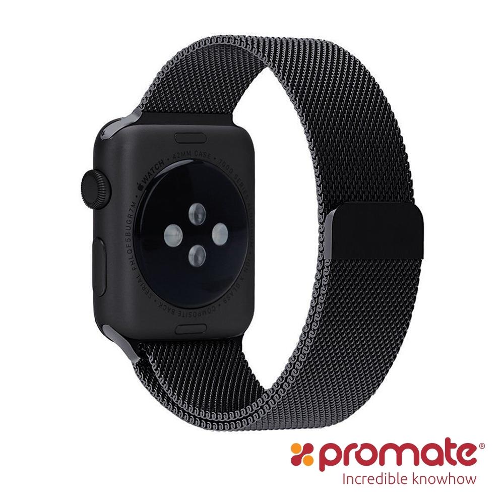 Promate Apple Watch 42/44mm 高質感金屬錶帶Milous
