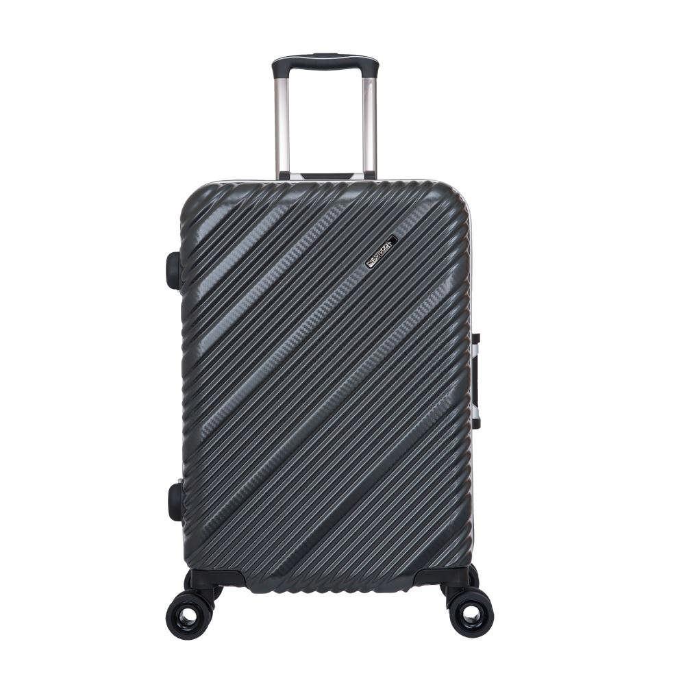 SKYLINE FRAME-24吋旅行箱-鐵灰編織紋 OD9077A24GY