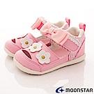 日本Carrot機能童鞋 花漾透氣高支撐涼鞋 NI14粉紅(寶寶段)