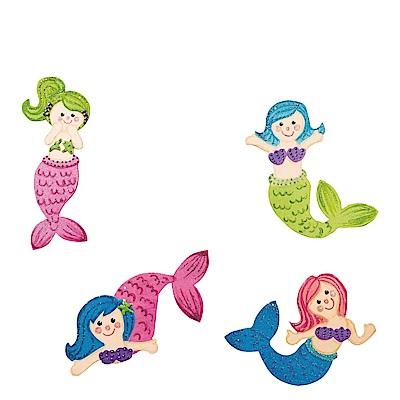 JAKO-O 德國野酷 DIY造型著色版-美人魚(12入)