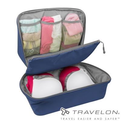 【Travelon】PACKING多隔層衣物收納袋TL-42965深藍/外出露營旅遊/居家分類收納