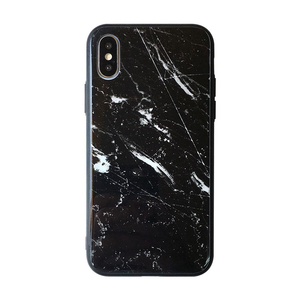 【TOYSELECT】iPhone 7/8 Plus 大理石玻璃背板手機殼