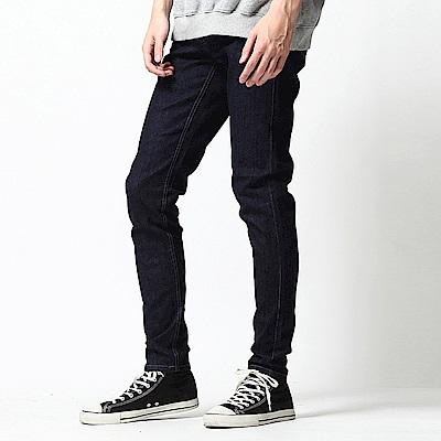 Skinny丹寧仔窄管牛仔褲(3色) ZIP日本男裝