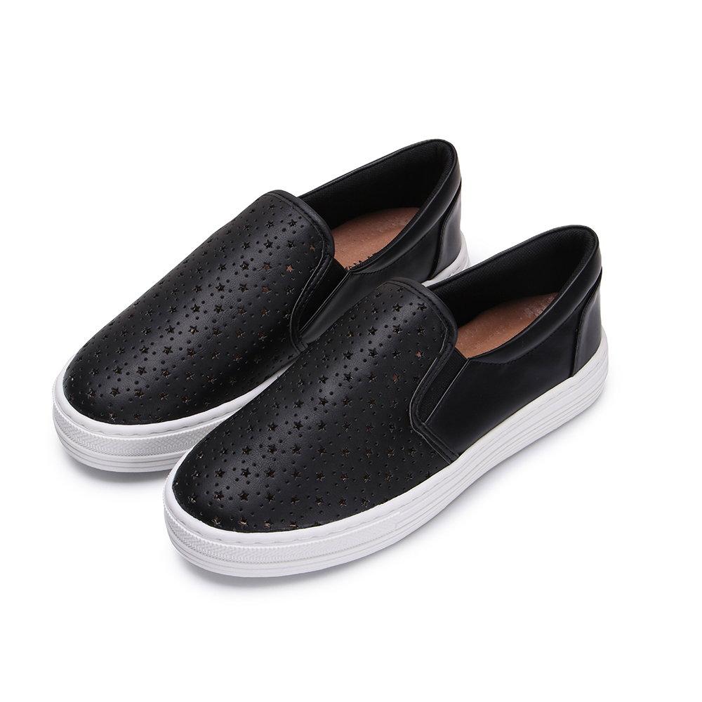 BuyGlasses 星星相印懶人鞋-黑