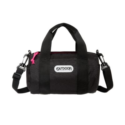 【OUTDOOR】玩色系列-圓筒側背包-黑色 OD101129BK