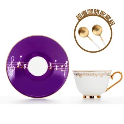 Royal Duke 骨瓷濃縮咖啡對杯-圓舞曲 (限量咖啡點心匙套組)