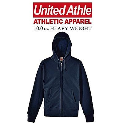 日本United Athle素面連帽外套 ZIP JACKET重磅磨毛UA