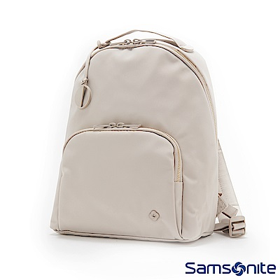Samsonite新秀麗 Skyler 2.0素雅印花女性後背包(亮灰)