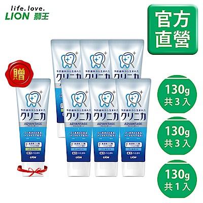 日本獅王LION 固齒佳酵素淨護牙膏 (清涼薄荷x3/柑橘x3) 6入組 加贈酵素淨護柑橘
