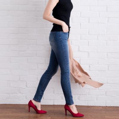 夢展望 完美彈性窄管牛仔褲-S.M.L.XL(共四色)