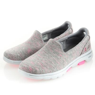SKECHERS 女 健走系列GOWALK 5 粉紅絲帶款-15044GYPK