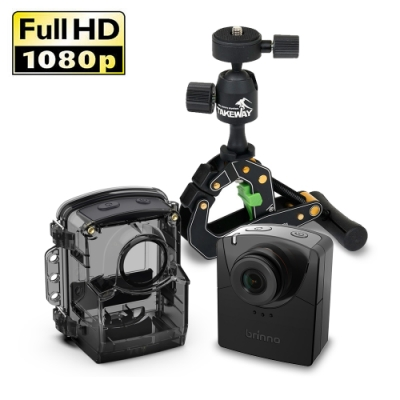 TLC2000縮時攝影相機+T1E鉗式腳架(二組裝)