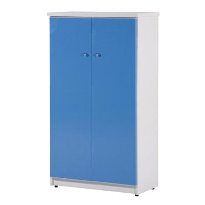 顛覆設計 防水塑鋼2.2尺雙門鞋櫃(七色可選)-65x33x117cm